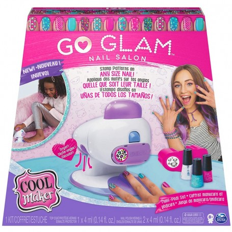 SALONE MANICURE GO GLAM COOL MAKER NEW SPIN MASTER 6054791